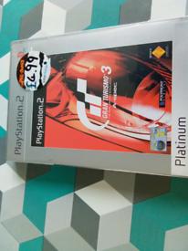 PS2 game gran turismo 3