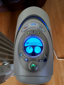 Heater and honeywell air cleaner