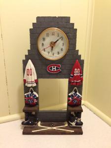 Lot Montreal Canadians Hockey Collectibles Mug Clock Shirt NHL