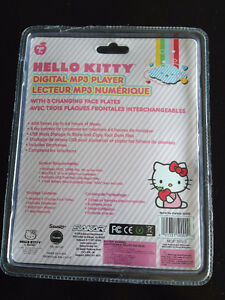 Hello Kitty Microphone & Stand and NEW Digital HK MP3 Player London Ontario image 2