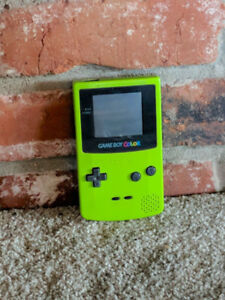 Nintendo Gameboy Color • Lime Green ( Please Read Description )