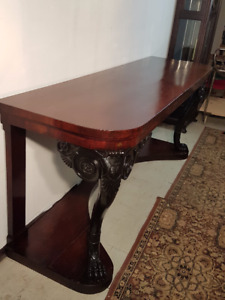 Large Antique Side Table