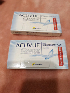 Contact lenses -3.50 Acuvue Oasys 2 boxes