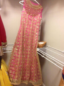 latest design gown for hall and marriage parties