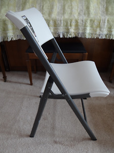A Set of 6 Brand New Lifetime Folding Chairs