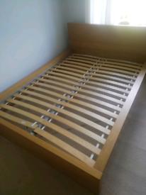 IKEA Double Bed (Malm)