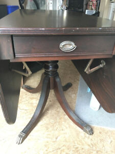 Antique Duncan Phyfe table, 1940's