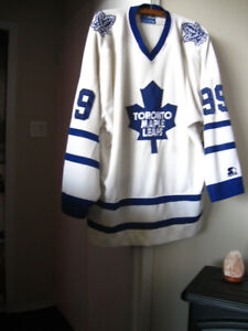 TORONTO MAPLE LEAFS -AWAY SWEATER - $20 - GOOD CONDITION - 2X