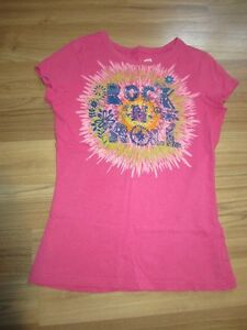 GIRLS T-SHIRTS & TANK TOP - SIZE 10/12 (LARGE) - $3.00 EACH