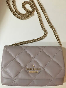 Brand New Kate Spade Clutch with chain