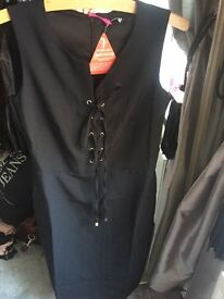 BRAND NEW IN PACKAGING! Size 8 by very dress LBD
