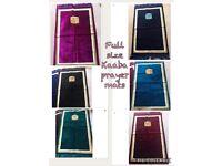 Brand new full size Kaaba prayer mats