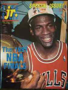 Tuff Stuff Jr. Special Issue - MJ's First Championship