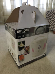 Tiger Rice Cooker- Brand New, Unopened