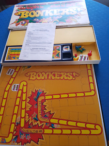 Bonkers board game from the 70s