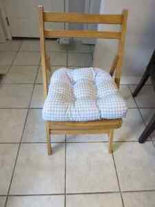 Made in Canada Chair Cushions Kitchener / Waterloo Kitchener Area image 1