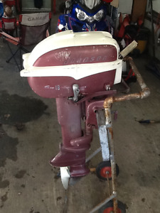 1957 Johnson 18 hp outboard