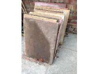 Slabs free for collection