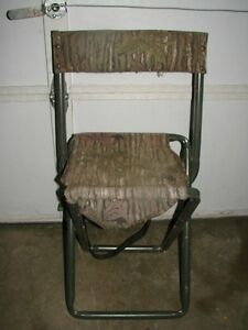 Camoflauge (hunting angler) fold up chair