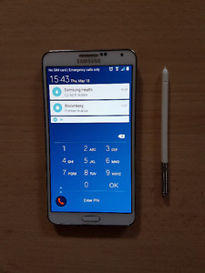 MINT CONDITION SAMSUNG NOTE 3 UNLOCKED & WIND