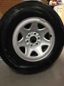 Barely Used Tire & Rim Combo