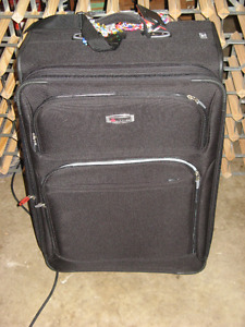 Soft sided suitcases