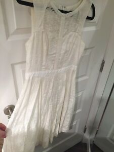 Off white cute dress