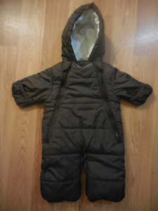 Joe Fresh 0-3 mo. Snowsuit
