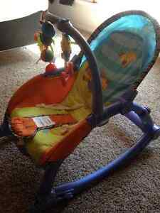 Fisher Price Infant to Toddler Rocker Strathcona County Edmonton Area image 2