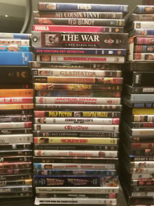 Huge DVD Collection - 100 movies + documentaries, TV series