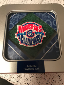Authentic Skydome Turf 1992/1993 World Series Champs