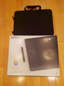 (Used) Wacom Intuos 5 Tablet Large w/ Pen, Nibs, Carrying Case