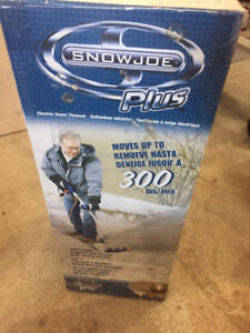 Light snow blower - Snow Joe pd $150 new never opened asking $65