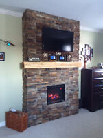 Custom Stone Fire Places, Chimney Repairs and More!