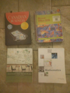 4 Business textbooks - $80 OBO