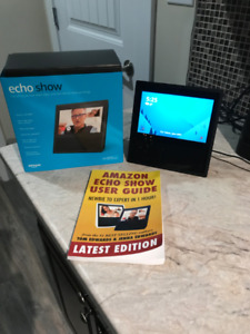 Alexa Echo Show with Screen and User Manual