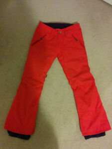 Burton Women's XS Coral Insulated Slim Fit Ski Snowboard Pants