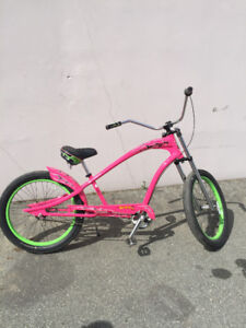 Hot Pink Rat Fink Cruiser