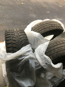 18 inch winter tires good condition