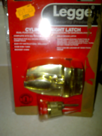 Legge Cylinder Night Latch - Deadlock- As New