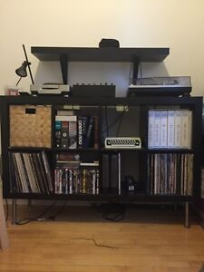 Ikea Expedit - Bookcase Bibliothèque - DJ booth