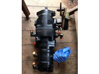 Hydraulic pump for mini digger or tractor