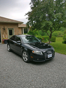 Mint 2006 audi a4 - rare black sline in amazing condition