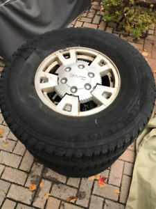 Tires on GMC rims - 265/75/15