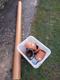 Underground pipe and fittings