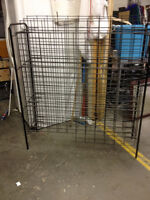 Wire Wine Rack - Holds 50 and more bottles.
