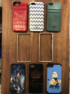 Various iPhone SE or 5, 5s Phone Cases