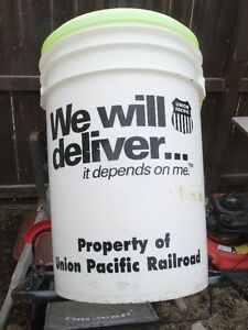 Union Pacific Ice/ water pail for sale