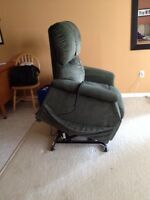 Medical recliner, toaster oven, sweaters