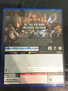 Batman Arkham Knight PS4 | Will trade for other games Kitchener / Waterloo Kitchener Area image 3